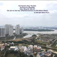 Cần tiền bán gấp căn hộ The Sun Avenue - 3PN - 96m2 - Tây Nam, view sông - giá 4,15 tỷ (bao tất cả)