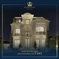 Biệt thự King Crown Village Thảo Điền mặt tiền Nguyễn Văn Hưởng đắc địa