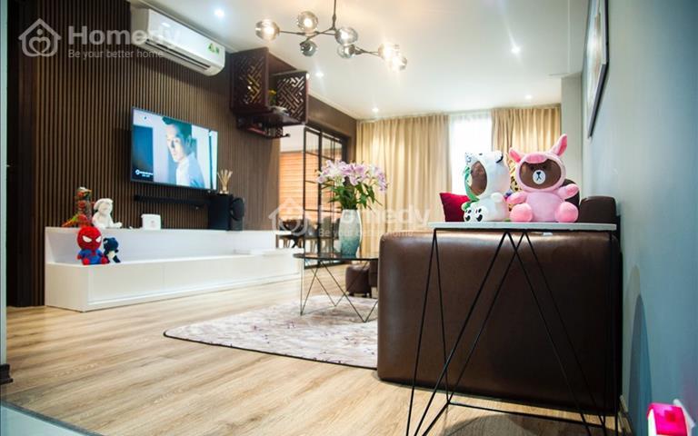 Cho thuê chung cư HH2A, 2B Gia Thụy, 90m2 2 phòng ngủ, 2wc 8 triệu/tháng đồ cơ bản