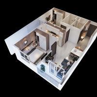 Suất ngoại giao căn 2 phòng ngủ dự án EcoHome 3, giá 16,5 triệu/m2, lãi suất ưu đãi