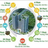 Chung cư Tecco Thanh Trì, chỉ từ 900 triệu, 2 phòng ngủ, 2wc, nhận nhà ở ngay