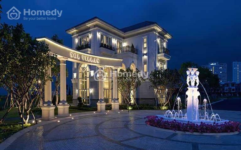 Hết tiền đi du lịch, cần bán nhanh biệt thự Sol Villas, giá 15,6 tỷ