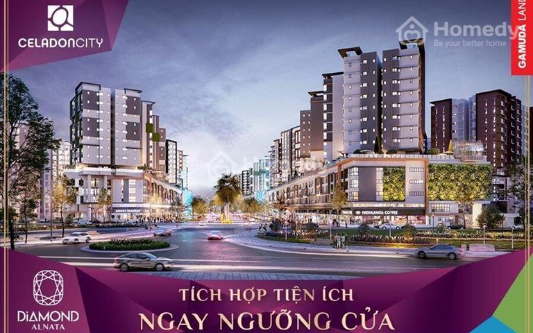 Chính chủ cần bán căn hộ Celadon 92,5m2 – view đại lộ Gamuda Block A2, giá đợt đầu