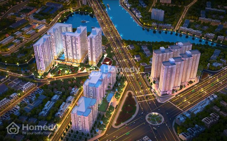 Bán Shophouse thương mại 130m2 mặt tiền đại lộ Võ Văn Kiệt quận 8, đang xây dựng đến tầng 19