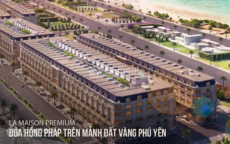 Shophouse ven biển đẳng cấp 5 sao tại đại lộ Hùng Vương - Tuy Hòa, cam kết mua lại 25%/3 năm