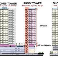 Chuyển nhượng Officetel Richmond City 53m2 tầng cao view đẹp - Giá 1.95 tỷ bao hết