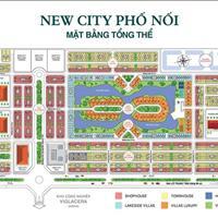 Chính chủ cần bán lô sổ hồng mặt đường 69m dự án New City Phố Nối