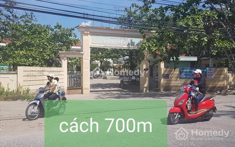 Đất thổ cư mặt tiền thôn Tây Vĩnh Phương, giá chỉ từ 550 triệu/nền