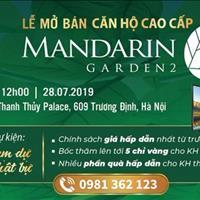 Mở bán căn hộ Mandarin Garden 2 ngã tư Tân Mai, Kim Đồng, Giải Phóng - Giá hấp dẫn chỉ từ 2 tỷ