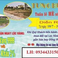 Cọc là có lộc, ưu đãi cao cho khách mua đất Lộc Ninh, gần sân bay thành phố Đồng Hới