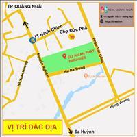 Cần bán lô đất dự án An Phát Paradise giá gốc rẻ nhất dự án trung tâm thị xã Đức Phổ, Quảng Ngãi