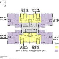 Cần bán gấp chung cư Seasons Avenue, tầng 1608, 70.88m2, giá 2 tỷ miễn trung gian