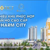 Triển khai giai đoạn 2 dự án Charm City - Dĩ An, Bình Dương căn hộ đầu tiên nằm trong cụm Vincom