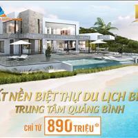 Chỉ cần 890 triệu sở hữu nền đất biệt thự biển tại thành phố Đồng Hới