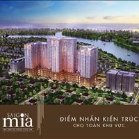 Cần bán căn hộ Saigon Mia mặt tiền 9A Trung Sơn, nhận nhà ở ngay, tặng gói thiết kế nội thất