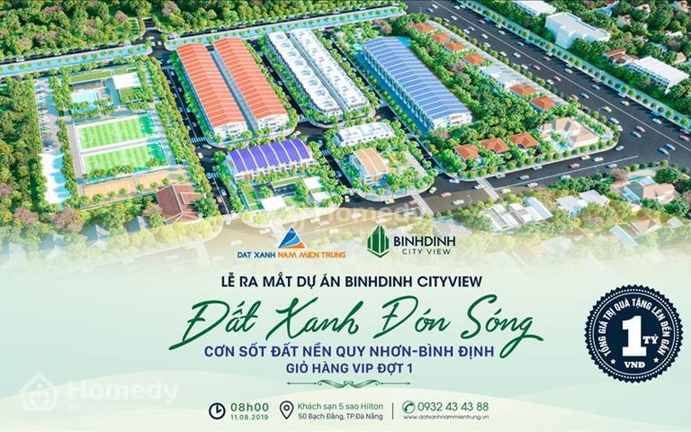Sở hữu đất nền du lịch Bình Định City View chỉ 790 triệu, sổ đỏ trao tay, nhận tái đầu tư ngay