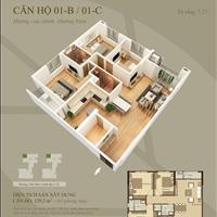Bán căn hộ chung cư cao cấp Mandarin Garden 2, căn góc, 123m2, giá 3,8 tỷ