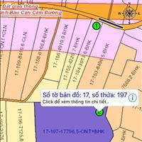 Bán đất đường song song Hương Lộ 10, Cẩm Đường, cách sân bay 10km, 2.1 hecta, giá 1.2 triệu/m2