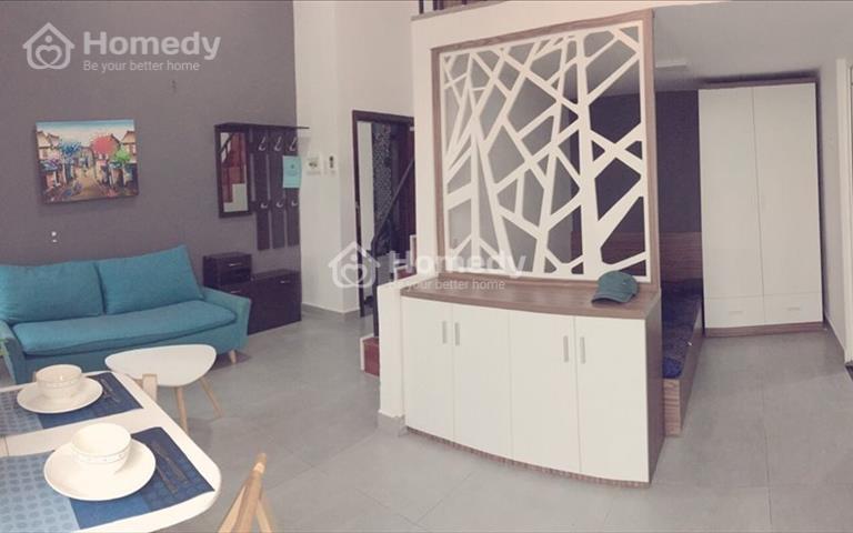 Căn hộ có gác gần BigC Sinva Home 55m2 quận 7 giá rẻ full nội thất giá yêu thương