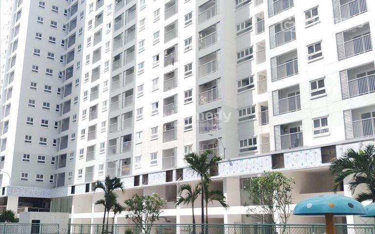Căn hộ mới nhận nhà, mặt tiền Phan Văn Hớn, 2 phòng ngủ, 2 WC, diện tích 65m2