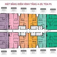 Bán nhanh cắt lỗ căn hộ 360 Giải Phóng Imperial Plaza, căn 1208, 79m2, 2 phòng ngủ, 2,1 tỷ