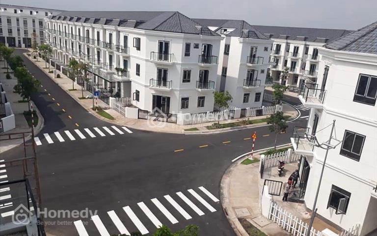 Khu nhà phố biệt thự Shophouse SimCity Quận 9 5x18m 1 trệt 2-3 lầu có sân thượng, 4,35 tỷ, bao VAT