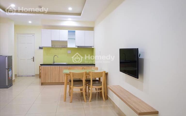 Cần cho thuê căn hộ chung cư Hiệp Thành 3, block D, 46m2, full toàn bộ nội thất cao cấp