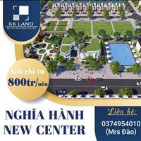 Nghĩa Hành New Center - Siêu phẩm đất nền chỉ từ 700 triệu/nền - Nhận đặt chỗ giai đoạn 2