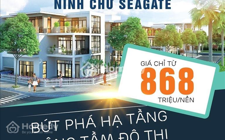 Chỉ 868 triệu/lô sổ đỏ thổ cư 100% duy nhất tại Ninh Thuận