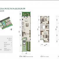Bán nhà phố Rosita Khang Điền - 5x23m - 5.1 tỷ