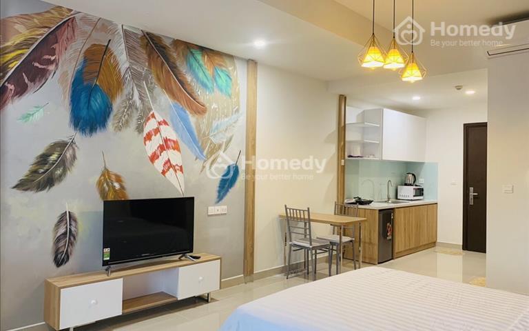 Cho thuê Officetel Sunrise Cityview 38m2, full nội thất, bao phí, giá 13 triệu/tháng