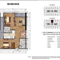 Cần bán gấp căn 2 phòng ngủ, 71,22m2 chung cư 90 Nguyễn Tuân, bàn giao tháng 11/2019