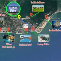 Đất biển Hồ Tràm, thổ cư, đã có sổ đỏ, tôi xin cam kết là sự thật, mặt tiền 12m, cách biển 700m