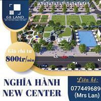 Đất nền Nghĩa Hành New Center- cơ hội đầu tư chỉ từ 6,5 triệu/m2