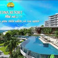 Chính thức nhận cọc thiện chí giai đoạn đầu căn hộ sát biển Edna Resort Mũi Né, sở hữu lâu dài