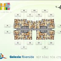 Gấp, bán nhanh căn hộ chung cư Gelexia 885 Tam Trinh, căn 1212 CT2A, 70.9m2, 2 phòng ngủ, 1,5 tỷ