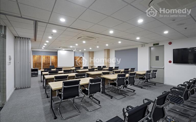 Cho thuê phòng họp, phòng học, phòng sự kiện 30 - 50 - 80m2 từ 10 đến 80 chỗ ngồi