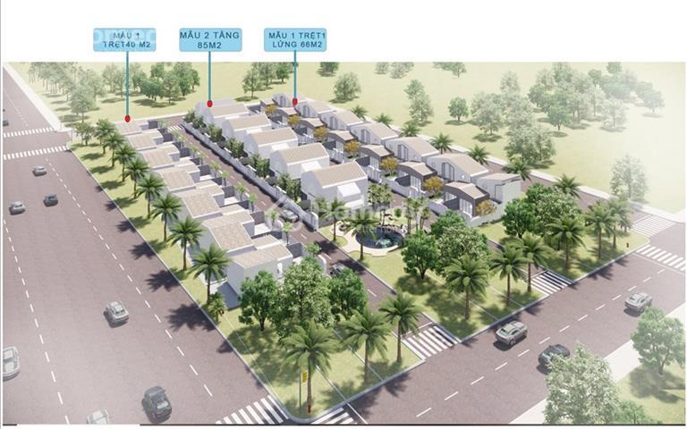 Bán villa giá rẻ F0 tại biển Dốc Lết - Nha Trang giá 975 triệu/căn