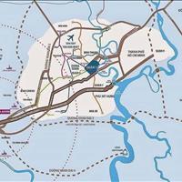 Đất nền thổ cư Asaka Riverside, trung tâm Bến Lức, mặt tiền Vành Đài 4, sổ đỏ, chỉ 12 triệu/m2