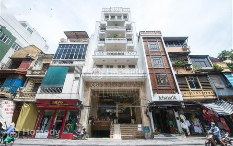 Bán khách sạn mặt phố Hàng Gai, 138m2, 6 tầng, 6m mặt tiền, giá 135 tỷ
