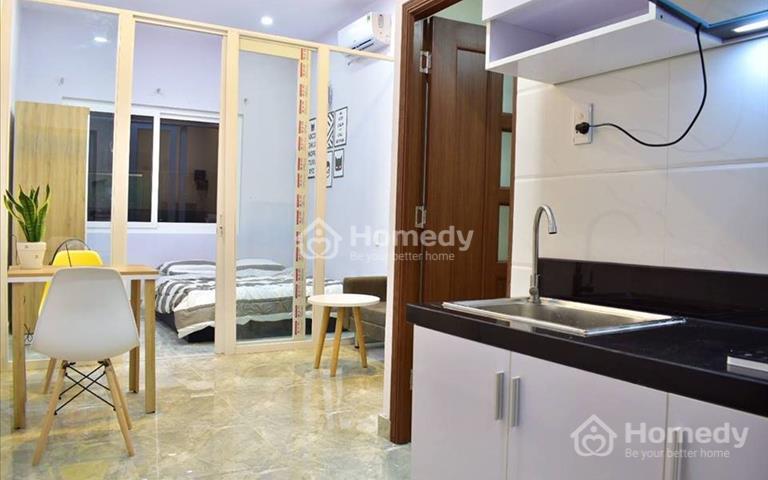 Căn hộ Quận Bình Thạnh 25m², 1 phòng ngủ, nội thất sang trọng