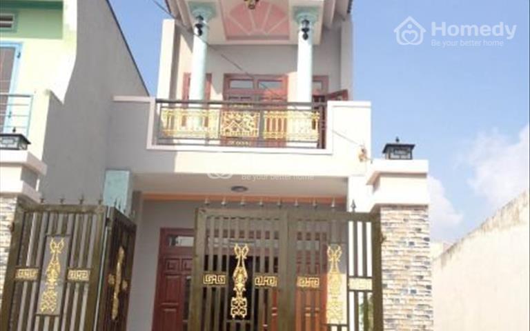 Bán nhà 4x17m, 1 lầu 1 trệt, 3 phòng ngủ, sổ hồng, có sân để xe hơi, phường Hoá An, Biên Hoà