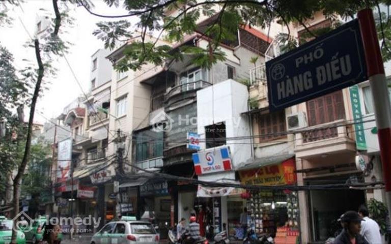 Bán nhà quận Hoàn Kiếm, siêu phẩm mặt phố Hàng Điếu 4 tầng, 59 tỷ, mặt tiền rộng, hiếm