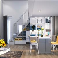 950 triệu/căn hộ ngay trung tâm quận 7 1 trệt, lửng, giao nhà full nội thất