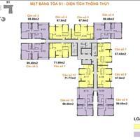 Bán nhanh căn hộ chung cư Season Avenue, căn 1808 S1, 67,9m2, hướng mát, giá 2 tỷ