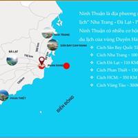 Đất nền sổ đỏ biển Ninh Thuận, chỉ 868 triệu/nền, mặt đường 25m