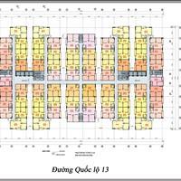 Bán căn hộ mặt tiền Đại lộ Bình Dương Unico, diện tích 45m2 giá chỉ 799 triệu/căn
