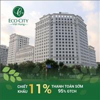 Nhận nhà ở ngay Ecocity Việt Hưng chỉ với 10%GTCH,chiết khấu 11%,Full nội thất nhập khẩu cao cấp