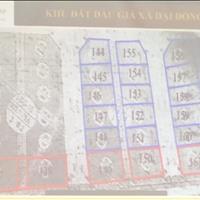 Bán nhanh 2 lô đất đấu giá cực rẻ gần cổng làng Đại Đồng, Thạch Thất, sát đường tỉnh 419, 10 tr/m2