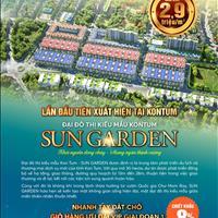 Bán đất Sun Garden Kon Tum - 430 triệu/lô - Đất có sỏ đỏ - Chiết khấu 8%